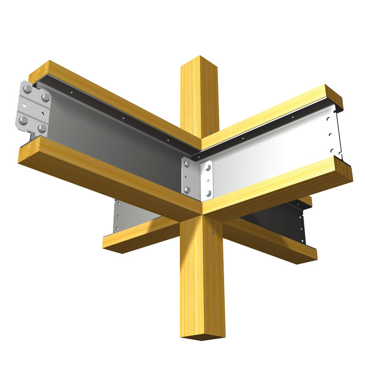 住宅の構造部材のイメージ図