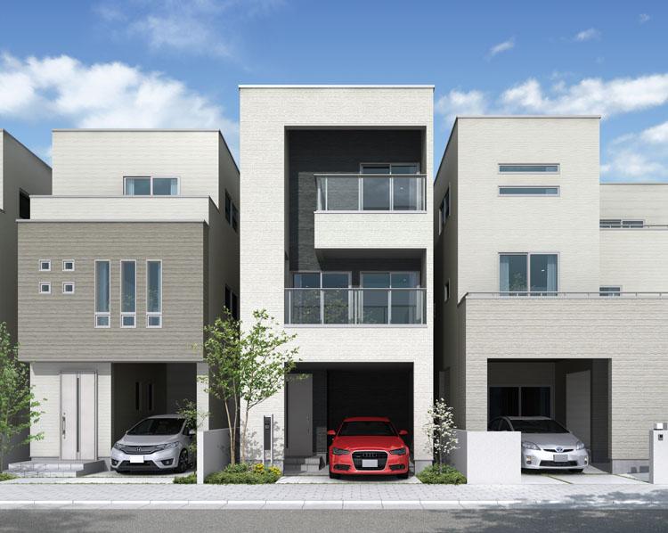 防火地域の建てた住宅のイメージ画像