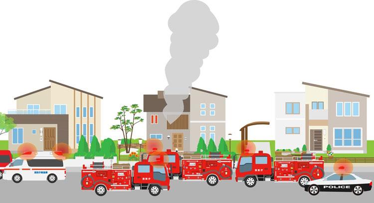 火災のイメージ画像